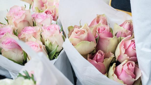 Le petit marché des fleurs, Bouquet mariage champêtre à Saint-Jean