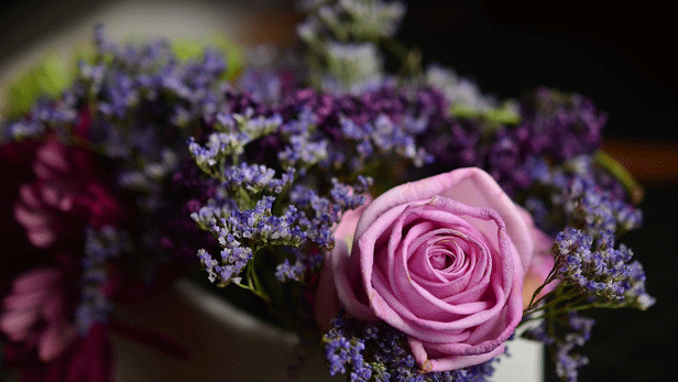 Composition florale pour deuil à Saint-Jean