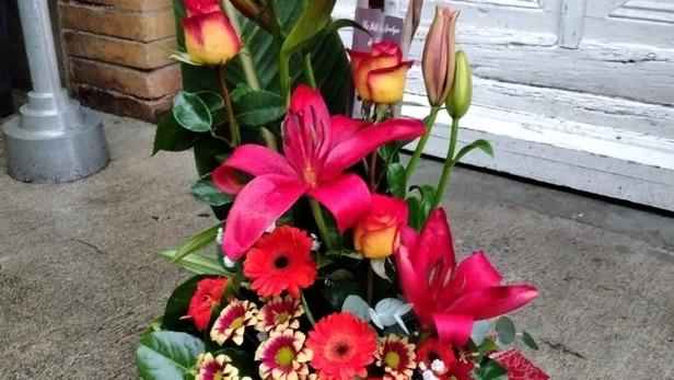 Création de bouquets et compositions Juliette à offrir à Saint-Jean