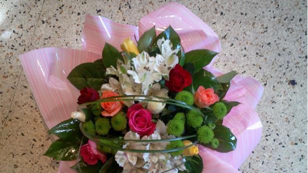 Au petit marché des fleurs