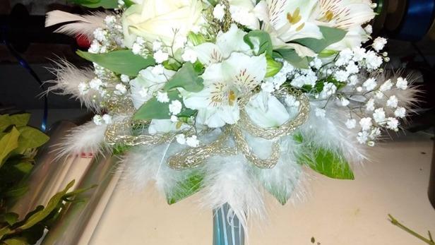 Réalisation de bouquet de mariées à Saint-Jean